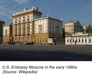 US Embassy Moscow, early 1960s