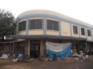 The former U.S. Embassy in Lome