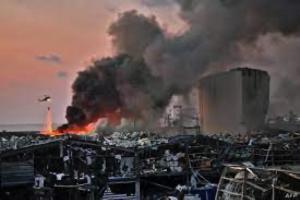 Powerful explosion rocks Beirut. VOA.com