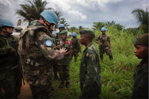 U.S sanctions against ADF come as U.S. military advisers and the UN peacekeeping MONUSCO show renewed interest in supporting Congolese forces FARDC in conducting operations against the ADF. Credit: MONUSCO/Sylvain Liechti.